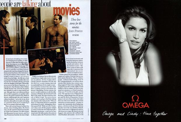 Movies: Three Love Stories for the Nineties