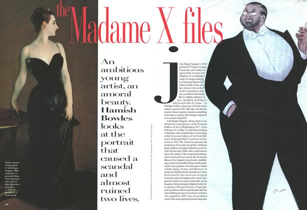 The Madame: X files