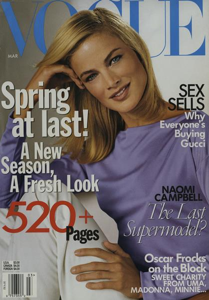 Issue: - March 1999 | Vogue