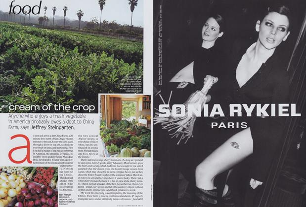 Article Preview: Cream of the Crop, September 1999 | Vogue