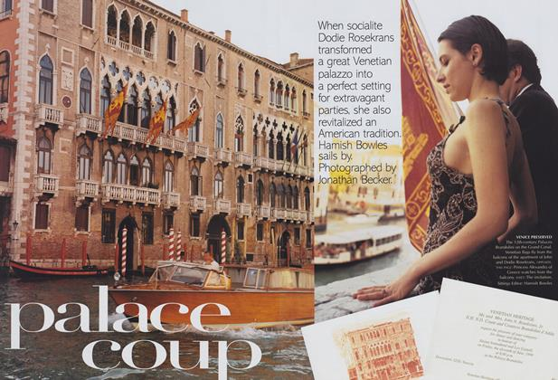 Article Preview: Palace Coup, September 1999 | Vogue