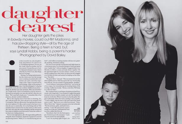 Article Preview: Daughter Dearest, September 1999 | Vogue