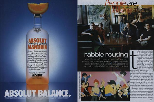 Article Preview: Art: Rabble Rousing, October 1999 | Vogue