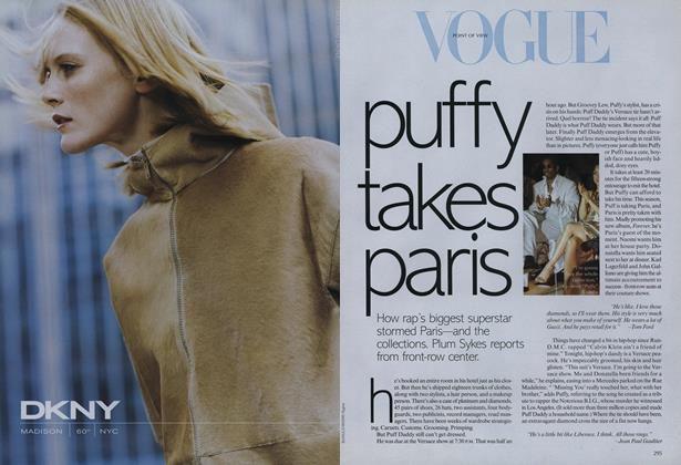 Article Preview: Puffy Takes Paris, October 1999 | Vogue