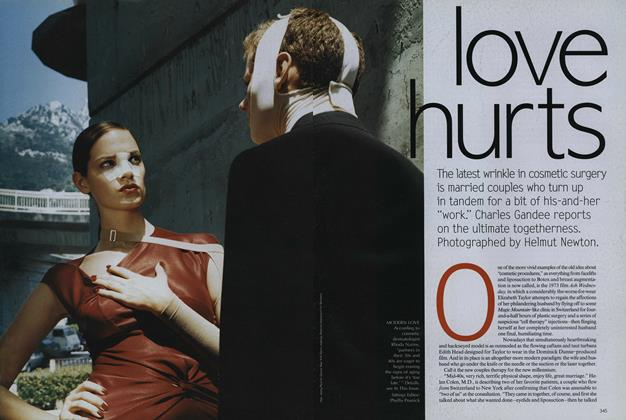 Article Preview: Love Hurts, October 1999 | Vogue