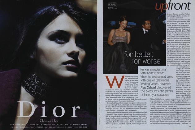 Article Preview: For Better. for Worse, October 1999 | Vogue