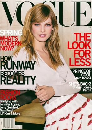 Cover for the February 2000 issue