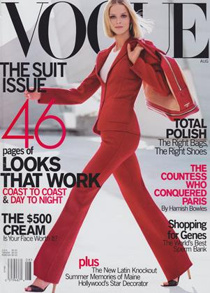 Cover for the August 2000 issue