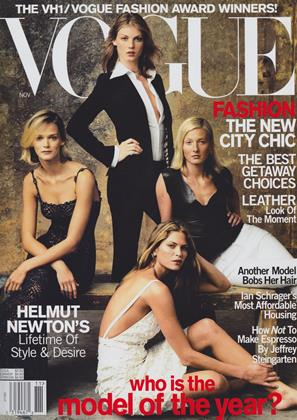Cover for the November 2000 issue