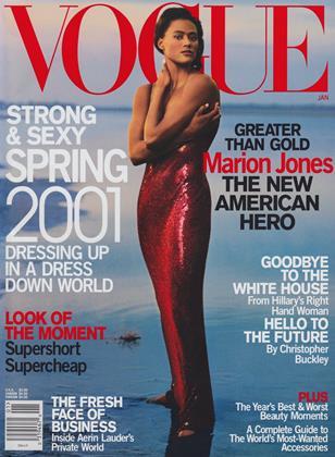 JANUARY 2001 | Vogue