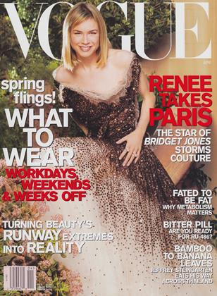 Cover for the April 2001 issue
