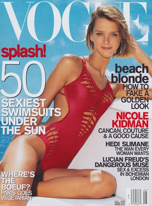 Cover for the May 2001 issue