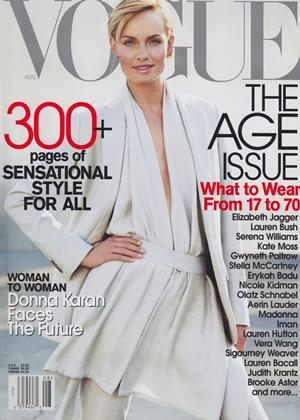 Cover for the August 2001 issue