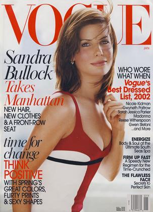 Cover for the January 2003 issue