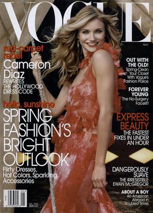 Cover for the May 2003 issue