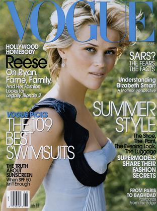Cover for the June 2003 issue