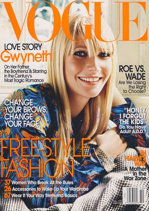 Cover for the October 2003 issue
