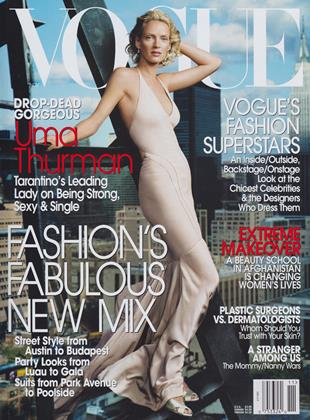 Cover for the November 2003 issue