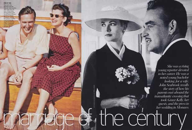 Article Preview: Marriage of the Century, December 2004 | Vogue