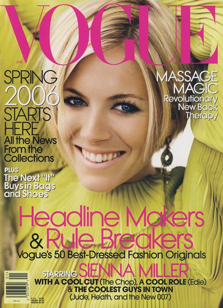 Issue: - January 2006 | Vogue