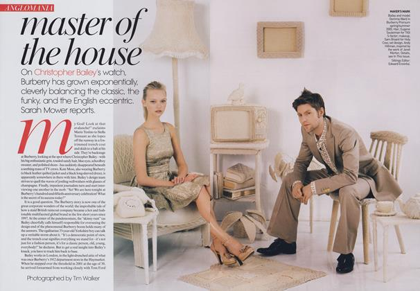 Article Preview: Anglomania: Master of the House, May 2006 | Vogue