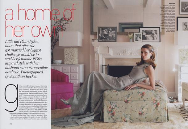Article Preview: A Home of Her Own, May 2006 | Vogue