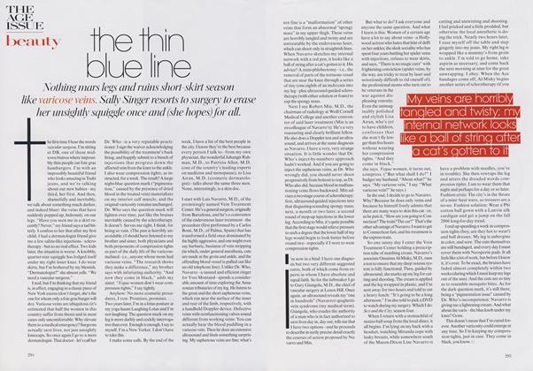 Beauty: The Thin Blue Line