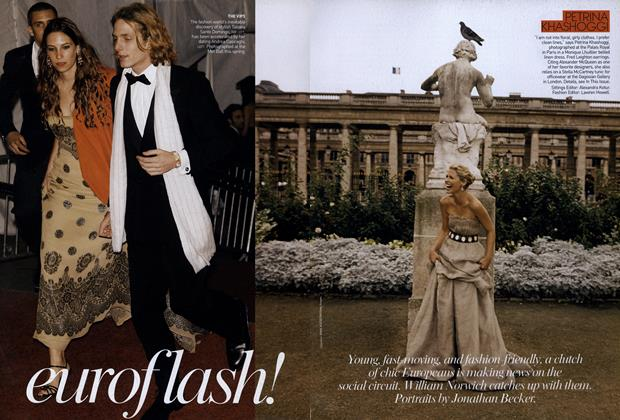 Article Preview: Euroflash!, December 2006 | Vogue