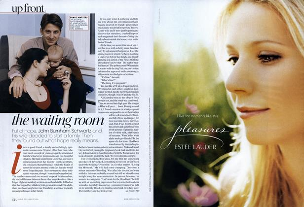 Article Preview: The Waiting Room, December 2006 | Vogue