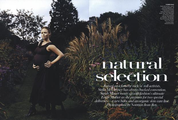 Article Preview: Natural Selection, January 2007 | Vogue