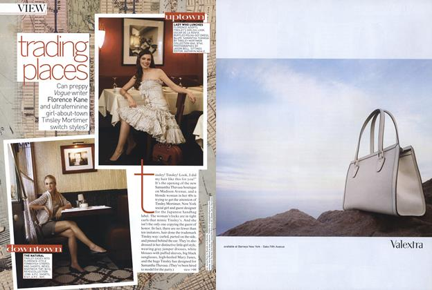 Article Preview: Style Swap: Trading Places, January 2007 | Vogue