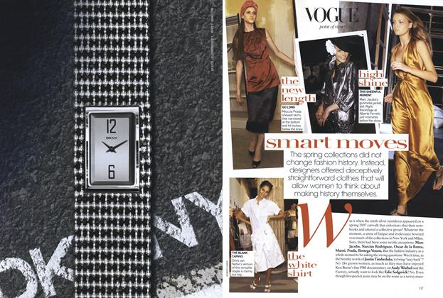 Article Preview: Smart Moves, January 2007 | Vogue