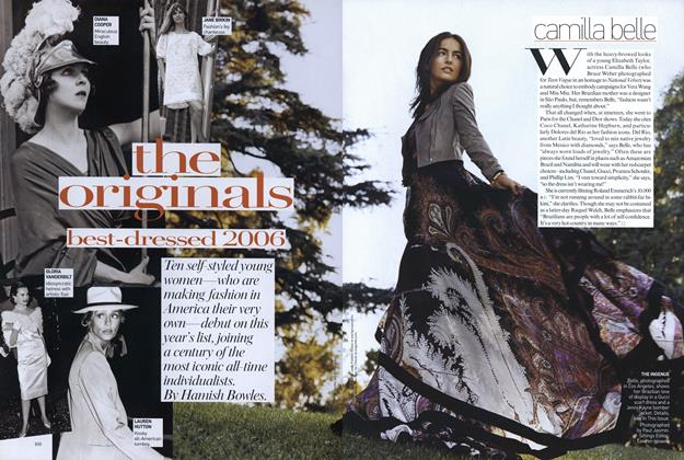 Article Preview: The Originals: Best-dressed 2006, January 2007 | Vogue