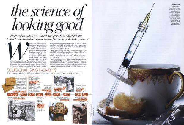 Article Preview: The Science of Looking Good, January 2007 | Vogue