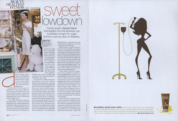 Article Preview: Sugar and Diabetes: Sweet Lowdown, April 2007 | Vogue