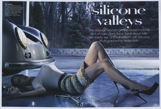 Article Preview: Silicone Valleys, April 2007 | Vogue