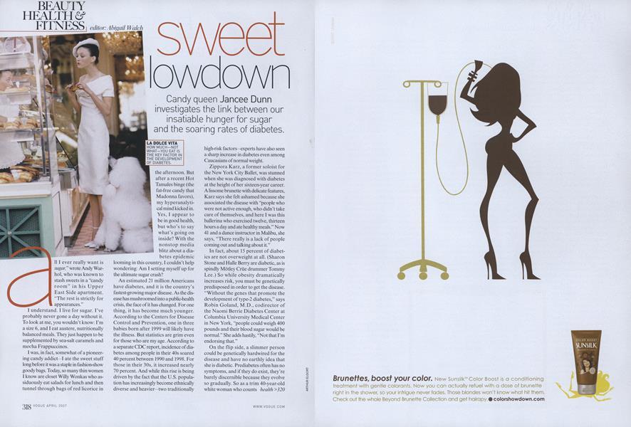 Sugar and Diabetes: Sweet Lowdown