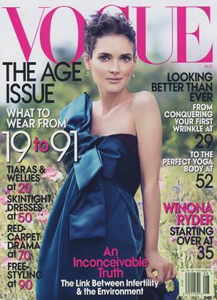 AUGUST 2007 | Vogue