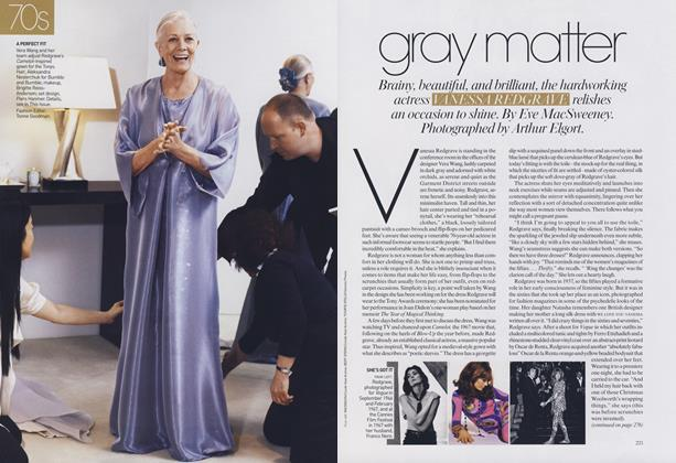 Article Preview: The Best Years of Our Lives: 70s—Gray Matter, August 2007 | Vogue