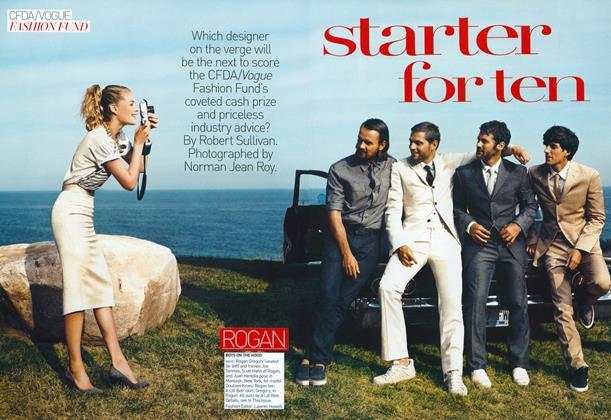 CFDA/Vogue Fashion Fund: Starter for Ten