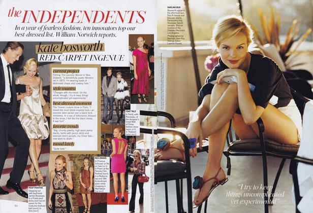 Article Preview: The Independents, January 2008 | Vogue