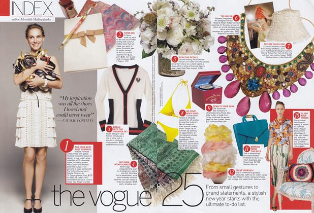 Article Preview: The Vogue 25, January 2008 | Vogue