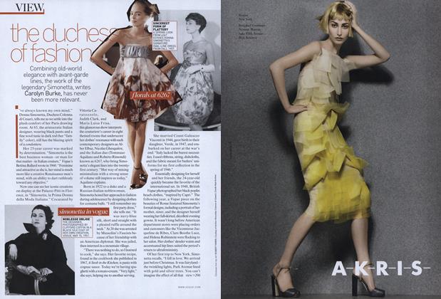 A Beautiful Life: The Duchess of Fashion