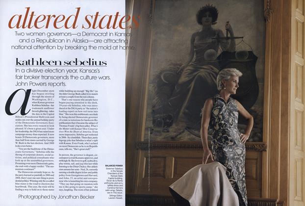 Altered States: Kathleen Sebelius