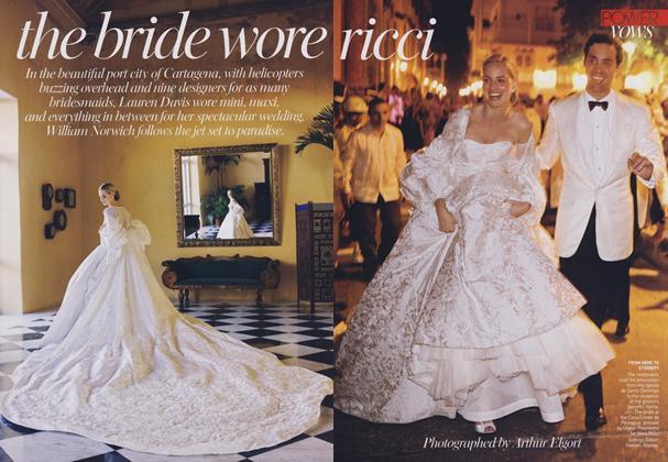 The Bride Wore Ricci