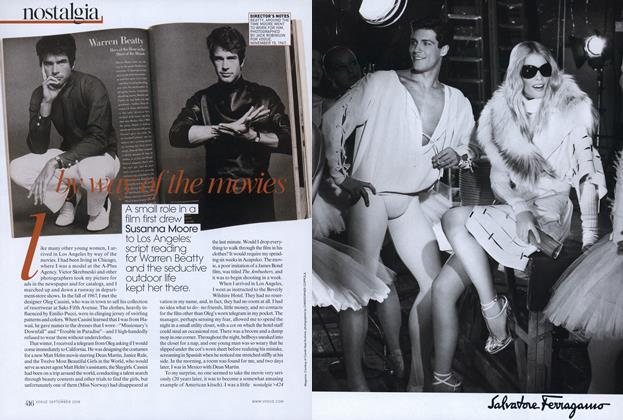 Article Preview: L.A. Story: By Way of the Movies, September 2008 | Vogue
