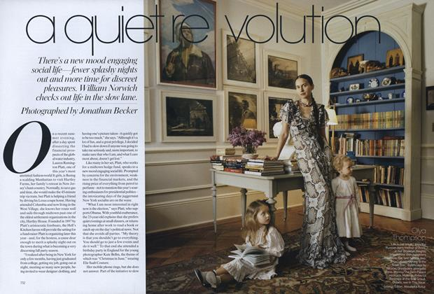 Article Preview: A Quiet Revolution, September 2008 | Vogue