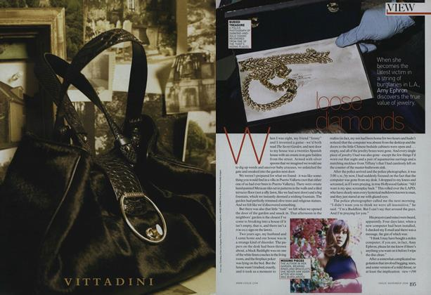 Article Preview: Stolen Jewels: Loose Diamonds, November 2008 | Vogue