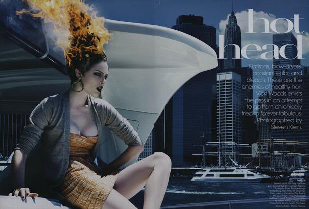 Article Preview: Hot Head, November 2008 | Vogue