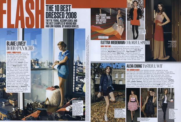 The 10 Best Dressed 2008: Blake Lively—Boho Panache